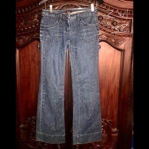 """Anthropologie """"Louie"""" wide leg trouser Jeans!"""
